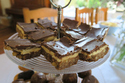 High tea slice