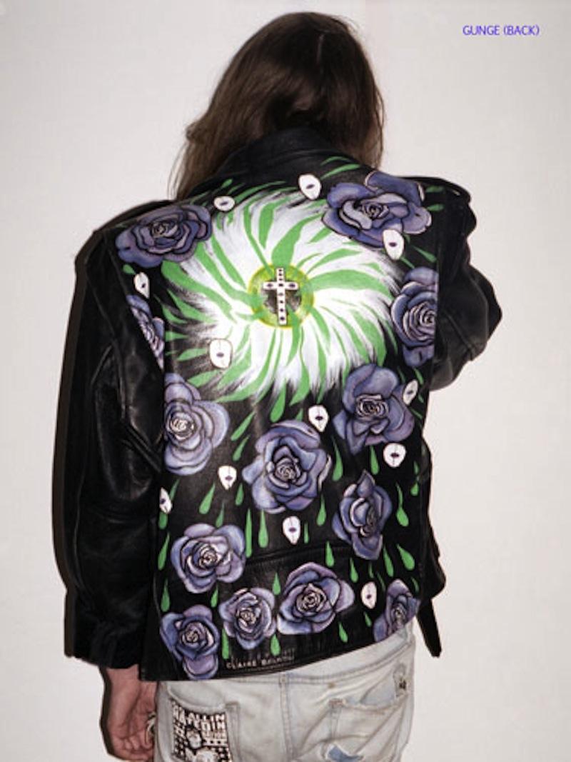 bad ass painted leather jackets trashion helsinki