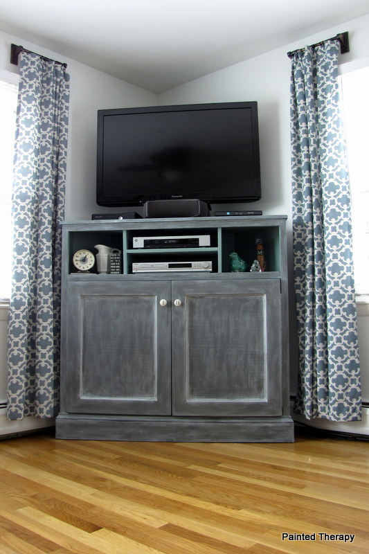 Tv Stand Designs For Corners : Woodwork diy corner tv stand plans pdf