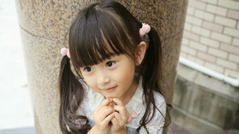 Foto balita tercantik di dunia Liu Chu Tian terbaru