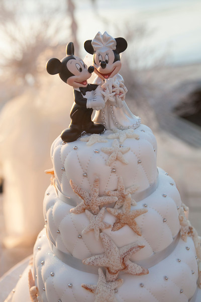 The Mickey And Minnie Cake Topper
