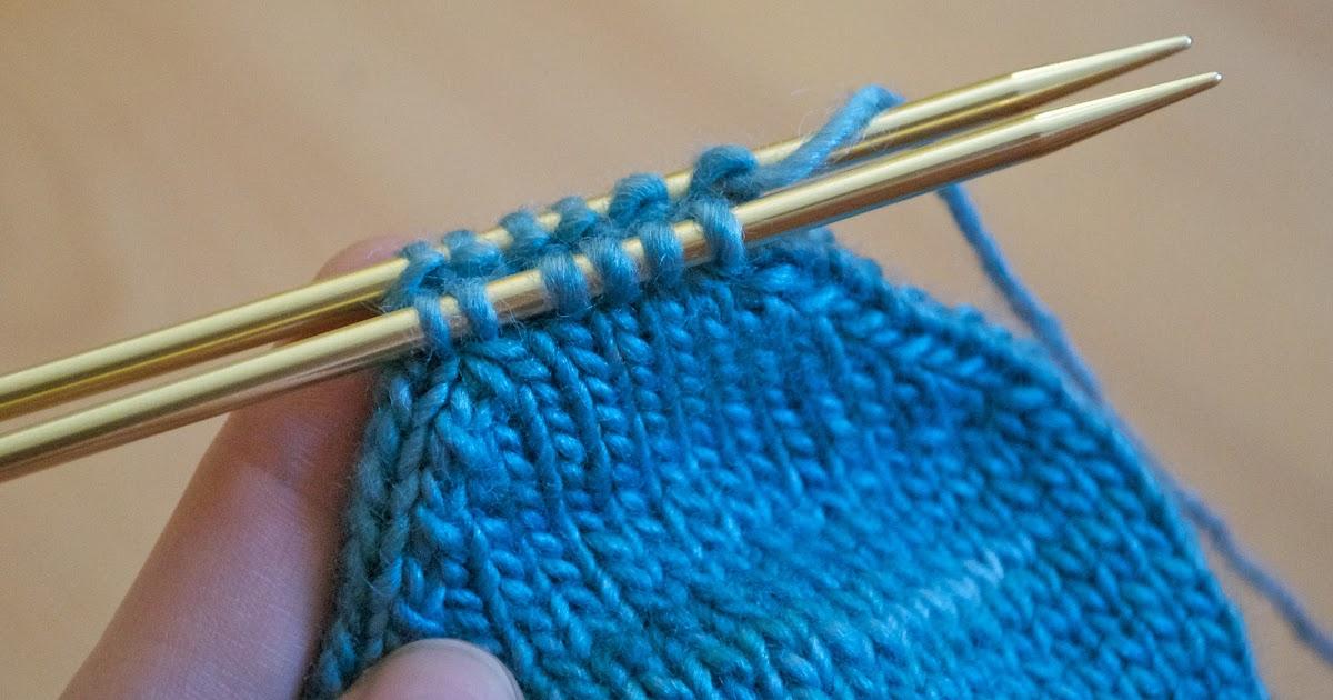 Knitting Grafting Underarm Stitches : Andreaknits grafting using kitchener stitch