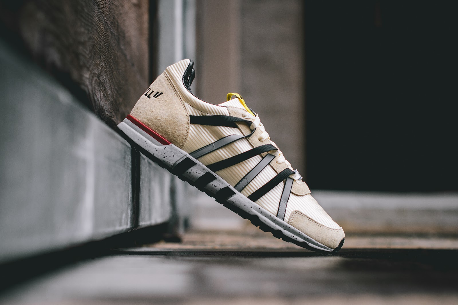 best service 8af6c d2aee Straight out of Berlin comes this runner from sneaker boutique Overkill in  collaboration with adidass Consortium line. The sneaker is inspired by  taxis ...