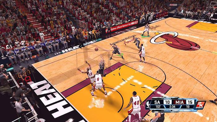 NBA 2k14 Next-Gen Scoreboard Mod PC Download