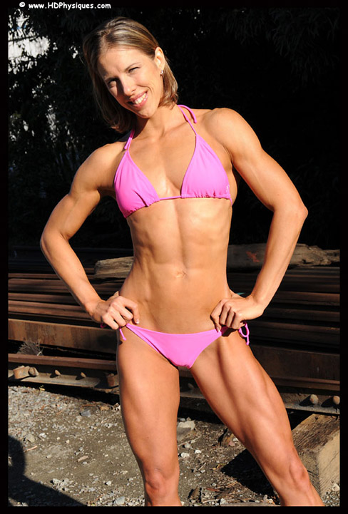 Chrissy Zmijewski Female Muscle Bodybuilding Blog HDPhysiques