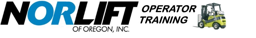 Portland Forklift Training