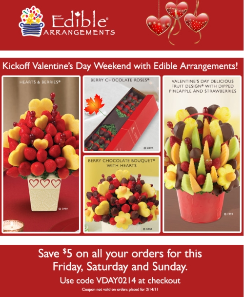 Edible arrangements coupon codes june 2018