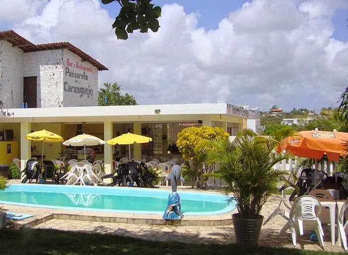Restaurante Passarela do Caranguejo, na Praia de Carapibus