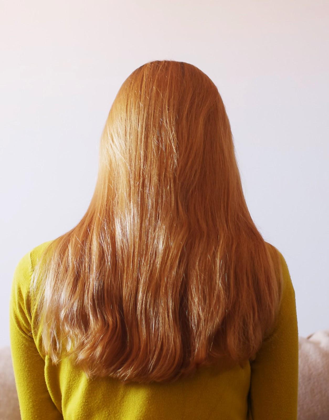 jak dbać o długie włosy, rude włosy, marchewkowe włosy,blog
