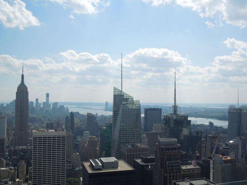 Rockefeller Center New York City view