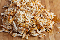 Remove chicken from slow cooker, and let it cool; then shred chicken ...