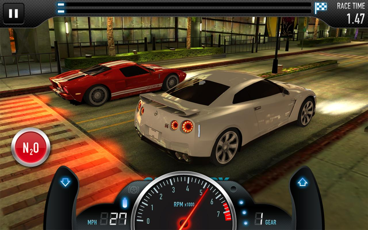 CSR Racing v1.1.7 (apk+obb) [Money+Gold Mod]