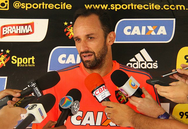 Depois de três meses, Magrão volta ao gol do Sport (foto: Williams Aguiar/Sport Club)