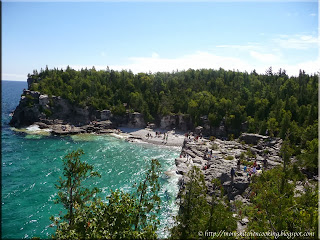 Indian Head Cove at Bruce Peninsula National Park