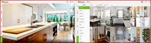 aplikasi ide desain interior eksterior rumah terbaik di