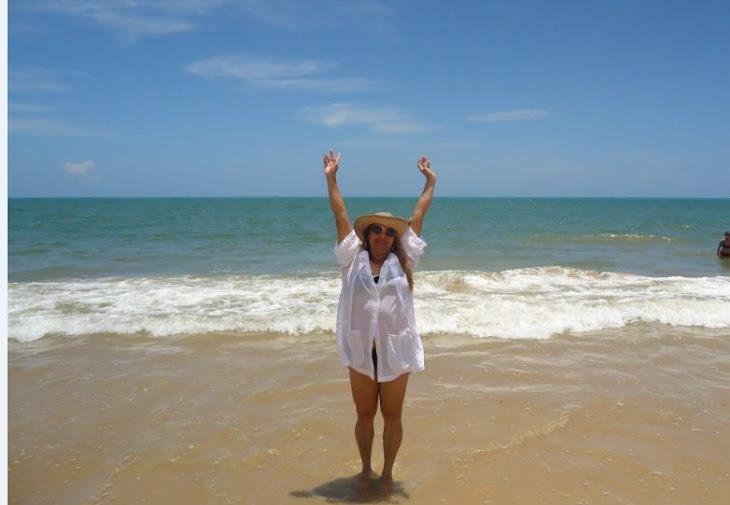 Amanhecer na praia.....