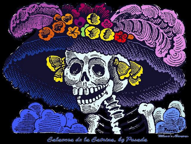 La Catrina, creada por José Guadalupe Posada