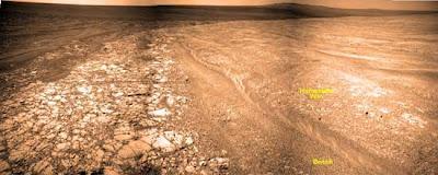 gesso su Marte