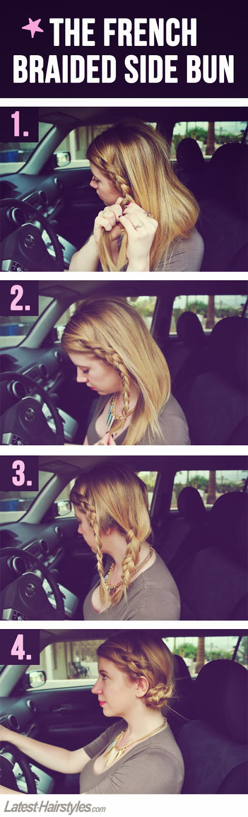 Quick and Easy Hairstyles You Can Do in Your Parked Car - DIY Craft ...