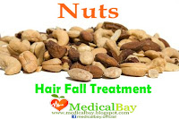 Nuts Hair loss treatment, Nuts hair fall loss remedy and treatment