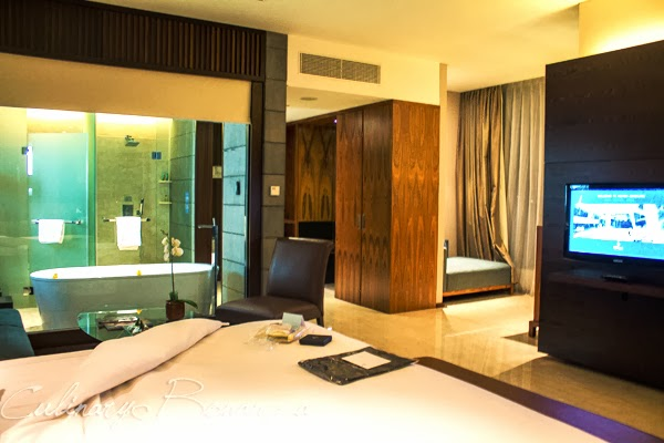 King Executive Plus Room at Hilton Bandung