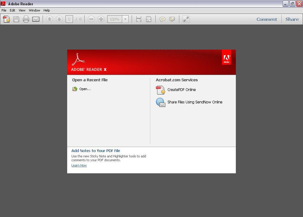 Adobe Reader 8 Windows 10