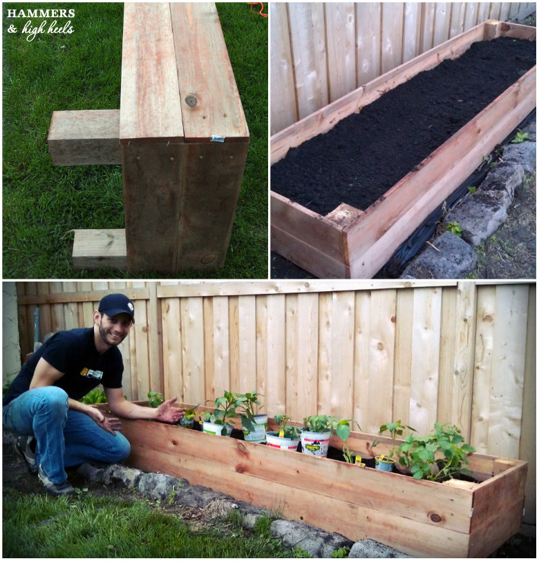 Memorial Day Mini Project- DIY Raised Garden Beds!