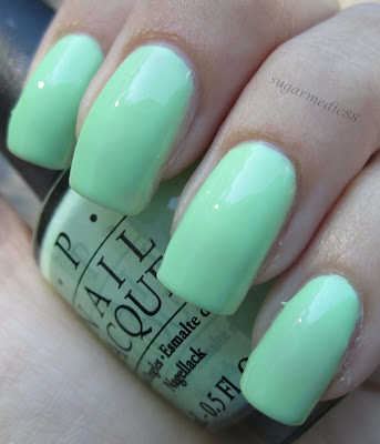 OPI Gargantuan Green Grape Swatch