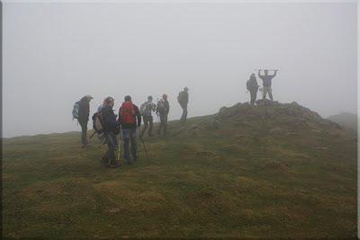 Buzón en la cima de Bunaniarri