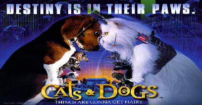 Cats and Dongs, Dogs, Cats, 2001