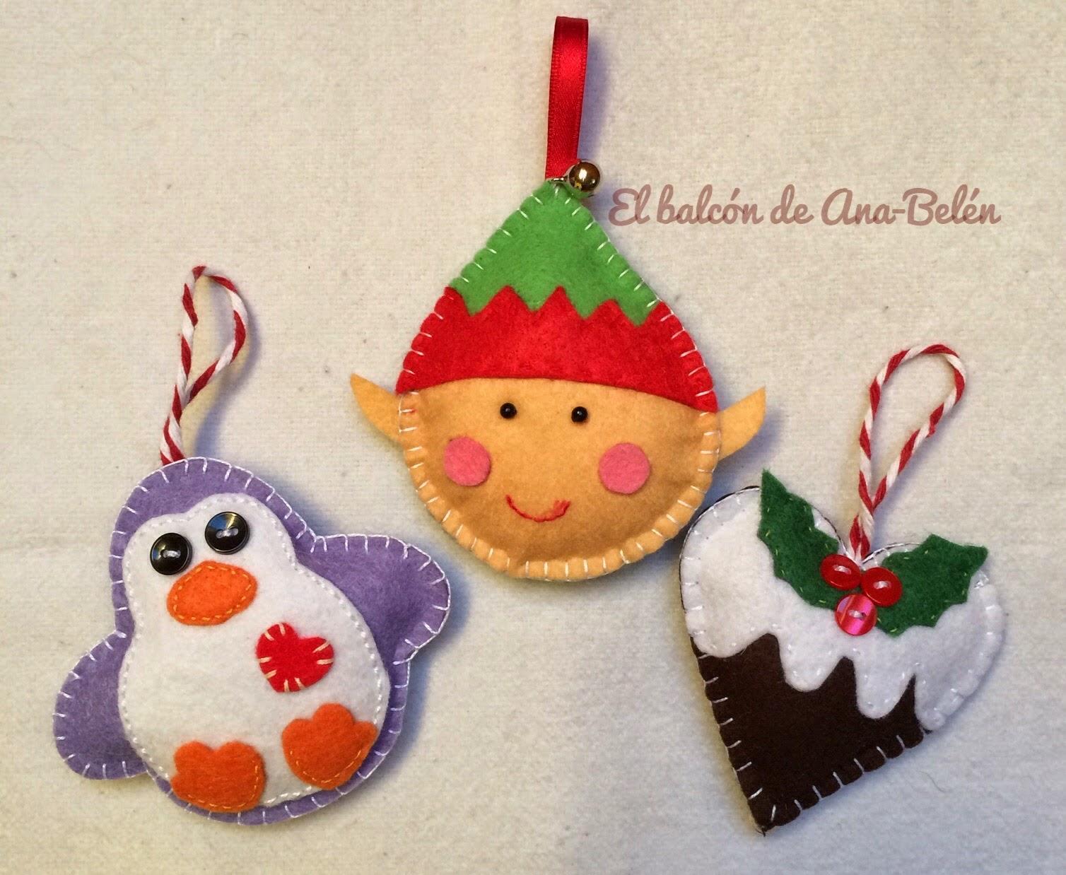 El balc n de ana bel n adornos para el rbol de navidad i for Adornos navidenos para el arbol