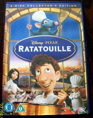 thats the way the cookie crumbles, blog, blogging, snail mail, mail, post, package, incoming, DVD, Disney, Pixar, Ratatouille, Anamated, movie, film