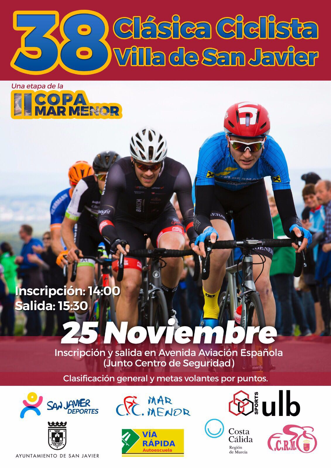 38 Clásica Ciclista Villa de San Javier