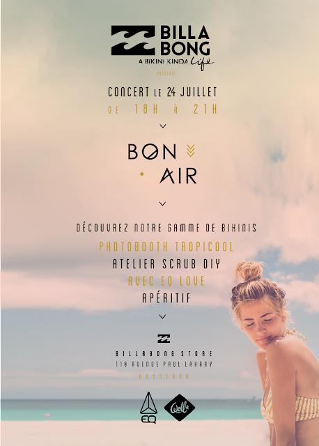 bon air,concert,hossegor,billabong,the mellow,soirée,eqlove,diy,Photo Booth,tropicool