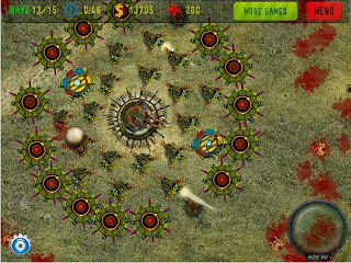 Anti Zombie Defense Game