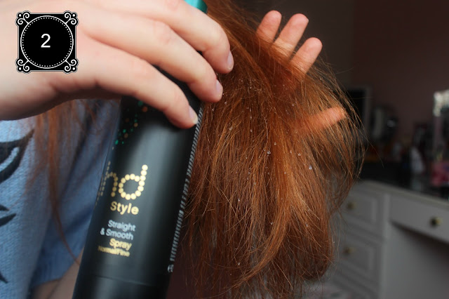 ghd style straight and smooth spray
