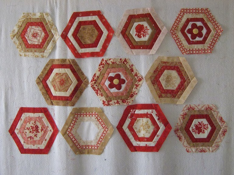 Quilt times: heartfire country charmer christmas challenge and