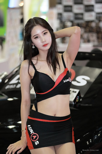 3 [New model] Han Yu Ri - Automotive Week 2015 - very cute asian girl-girlcute4u.blogspot.com