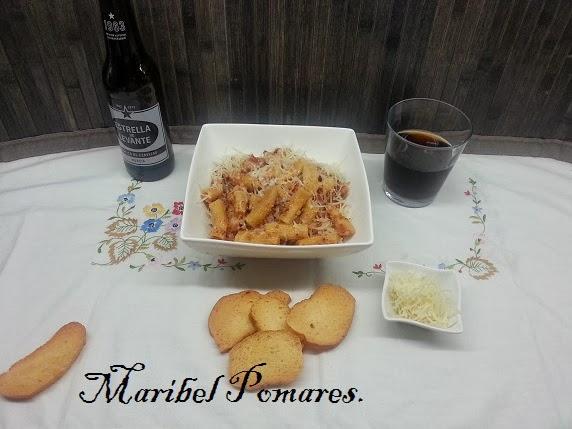 Cocinando con maribel macarrones a la carbonara en olla for Cocinar con olla gm