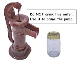 Drink Gramp's Choice the the ThoughtsPrime Water Pump or Your Morning Nn80wOXZPk