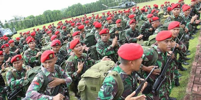 Panglima TNI Sidak Kopassus