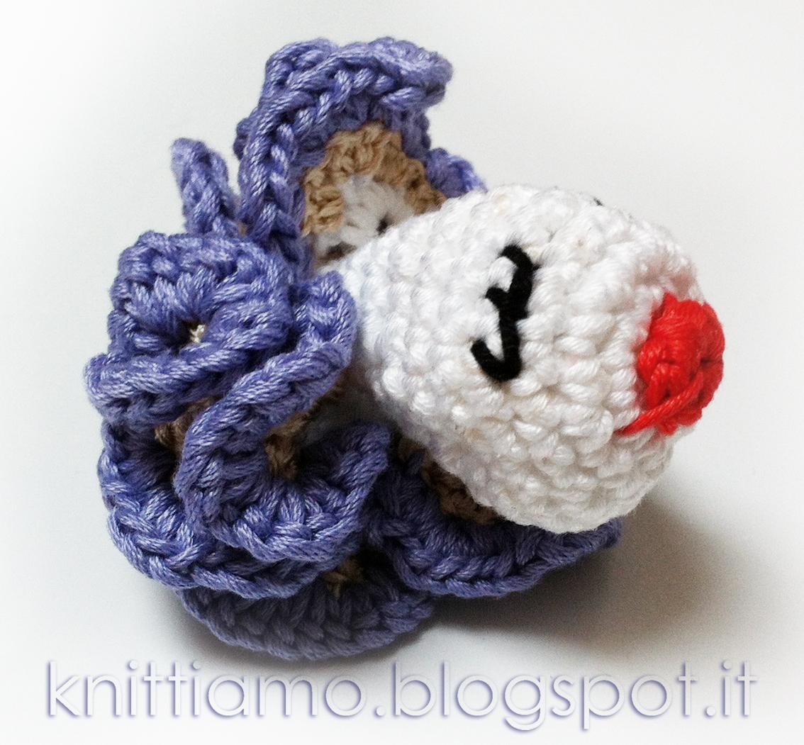 Amigurumi in filo di cotone