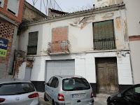 edificio histórico en ruina, calle Hoyo de Esparteros 7