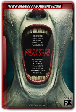 American Horror Story: Freak Show 4ª Temporada Dublado – Torrent Bluray 720p (2014)
