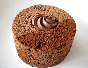 Chiffon cake chocolat - Pâtisserie Ciel Paris