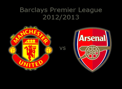 Manchester United vs Arsenal Premier league Barclays 2012