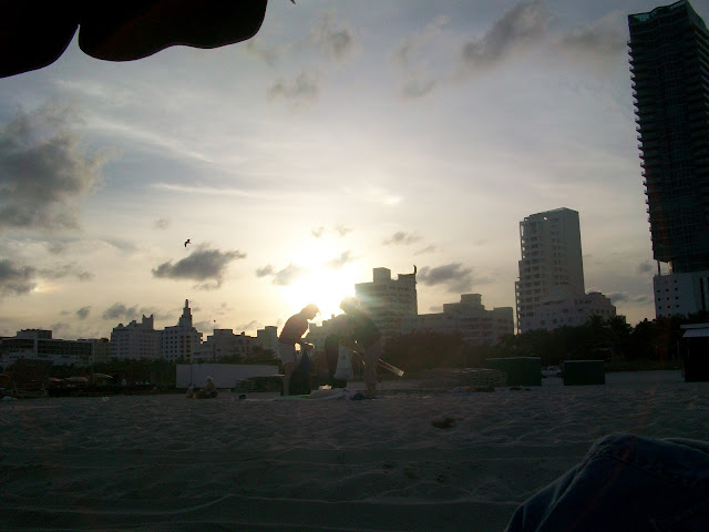 Sunset,Miami,Photo