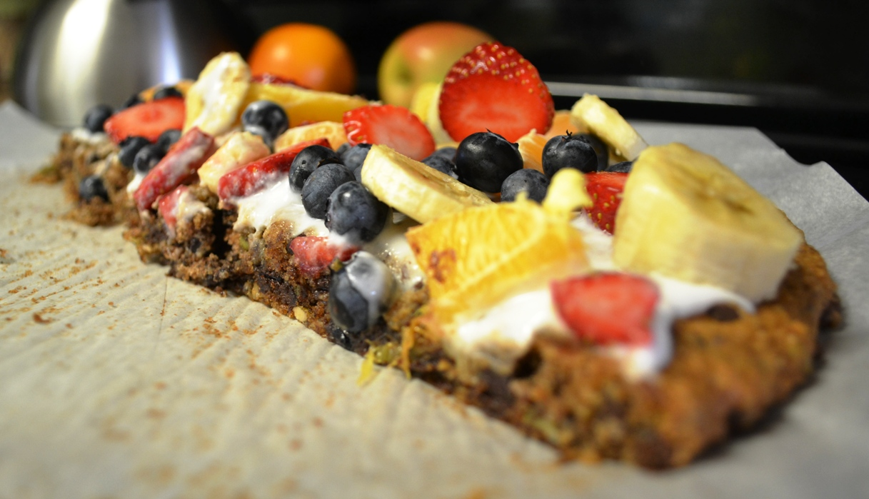 Paleo Fruit Pizza