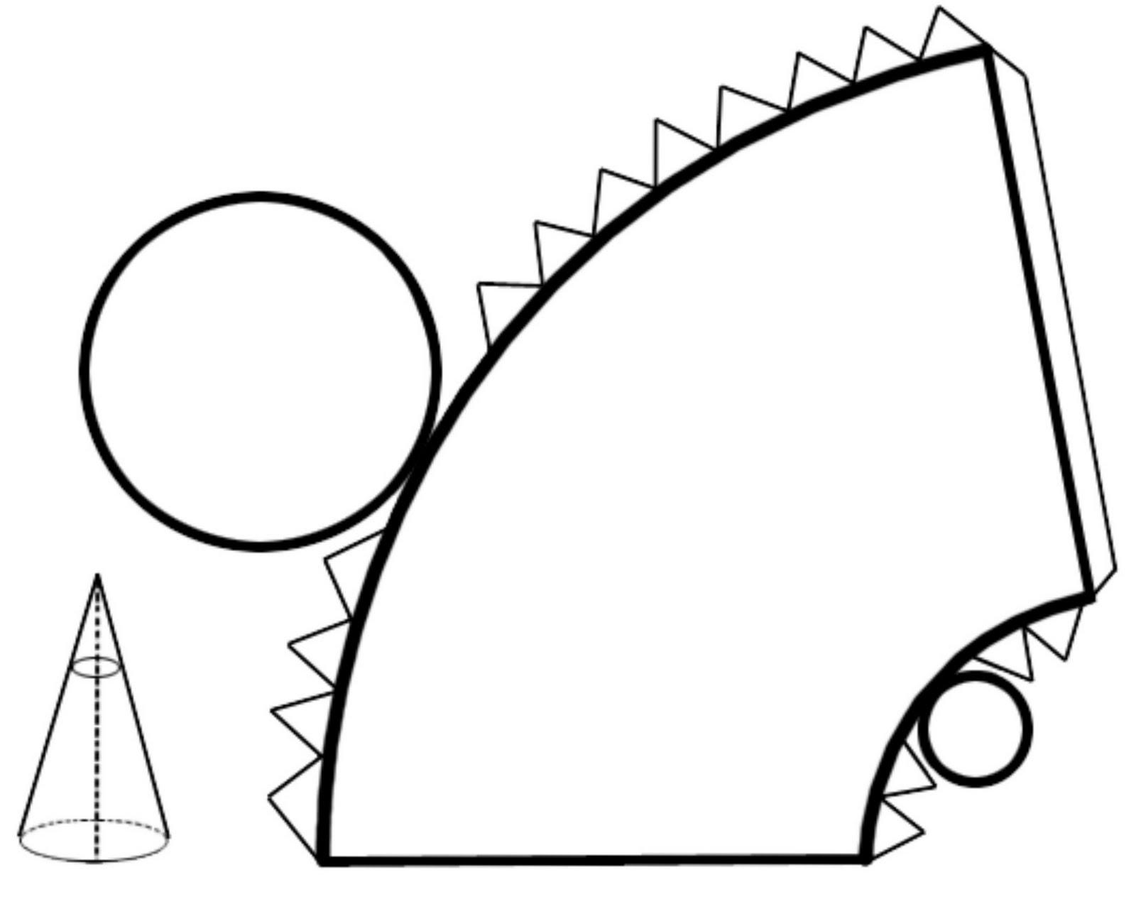 Construcci n de cuerpos redondos for Como puedo hacer un cono
