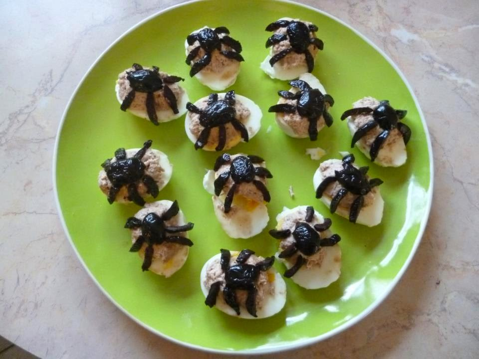 Cook Diy And Co Halloween Une Araignée Dans Lœuf